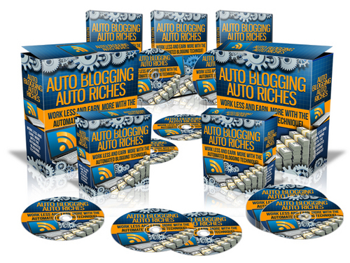 Product picture Auto Blogging Auto Riches (with Master Resell Rights)