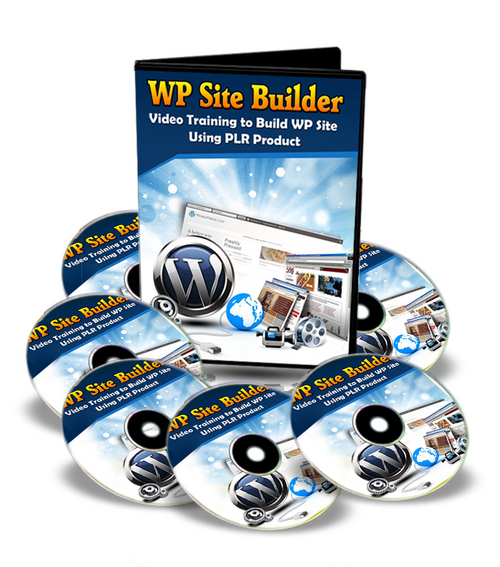 Product picture WP Site Builder (with Master Resell Rights)