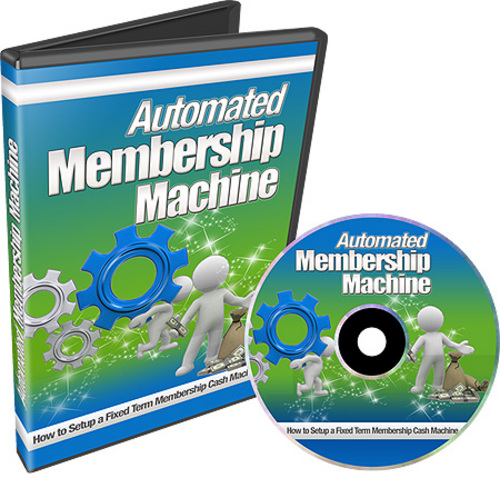 Product picture Automated Membership Machine (with Resell Rights)