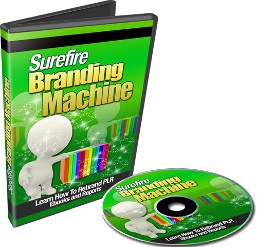Product picture Surefire Branding Machine (with Resell Rights)